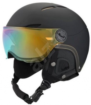 Přilba BOLLE JULIET VISOR SOFT BLACK GOLD 17/18