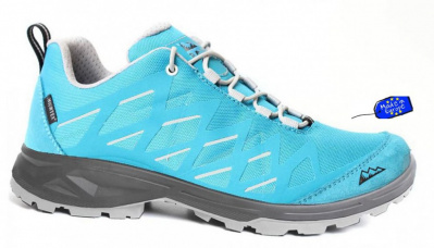 HIGH COLORADO dámská trekkingová obuv TRAIL LOW LADY turquoise-grey
