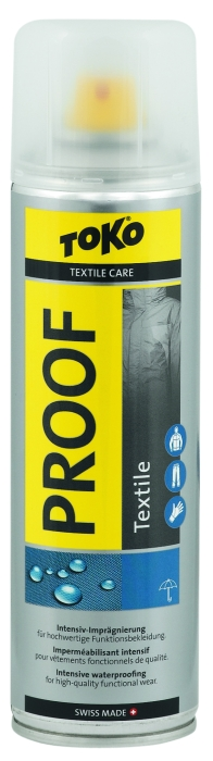detail Impregnace TOKO TEXTILE PROOF 250ml